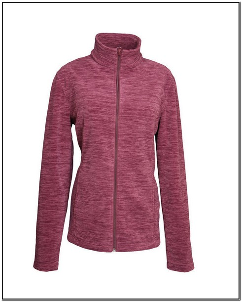 Womens Polar Fleece Jacket With Hood