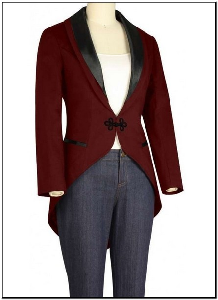 Womens Tuxedo Jacket With Tails