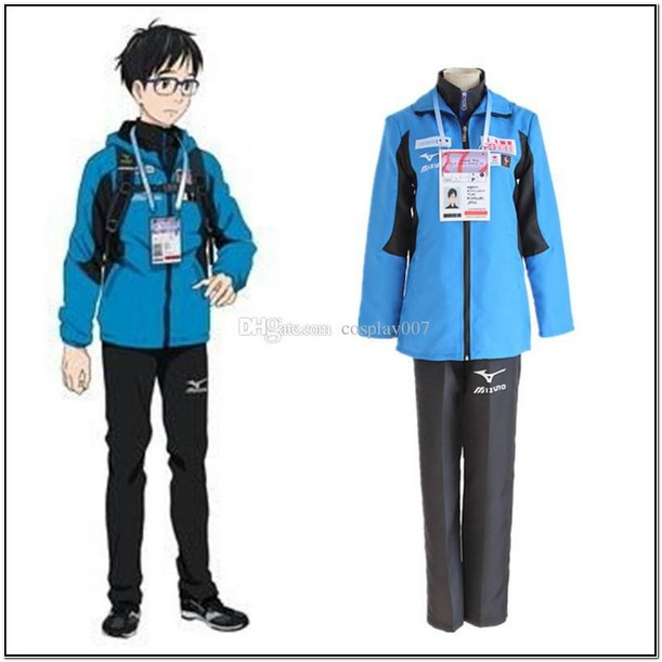 Yuri Katsuki Cosplay Jacket