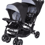 double stroller for infant and toddler with seat canada